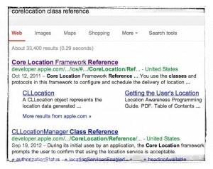 corelocation-search